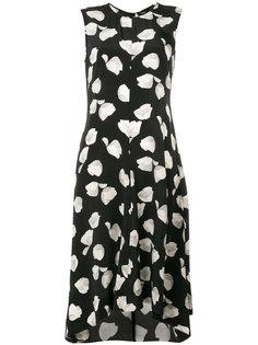 платье с цветочным принтом  Theory