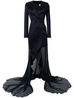 вечернее платье-смокинг Esteban Cortazar