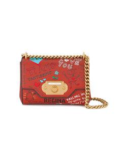 сумка на плечо с принтом Welcome Dolce & Gabbana