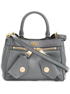 маленькая сумка на плечо с логотипом Moschino
