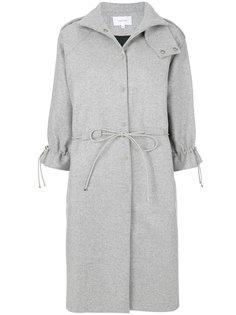 пальто с капюшоном и шнурком  Carven