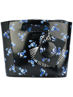 сумка-тоут с цветочным рисунком Kenzo