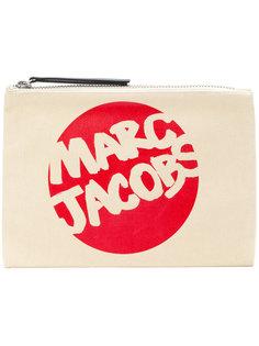 клатч с принтом логотипа Marc Jacobs