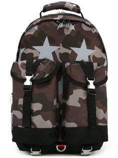 камуфляжный рюкзак с принтом звезд Guild Prime