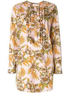 платье с рюшами на груди Polinesia  La Doublej