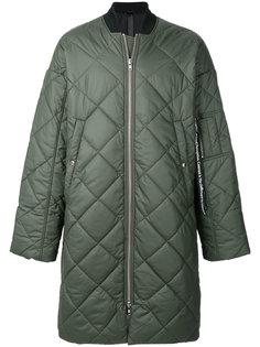 стеганое длинное пальто Odeur