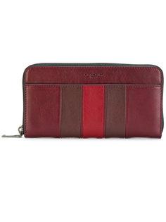 классический бумажник с круговой застежкой-молнией Coach