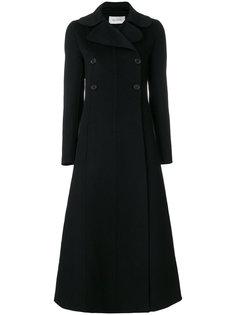 длинное двубортное пальто Valentino