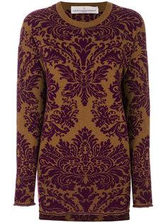 "свитер с круглым вырезом с узором ""барокко"" Golden Goose Deluxe Brand"