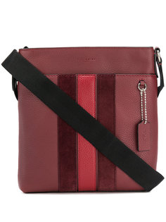 полосатая сумка на плечо Coach