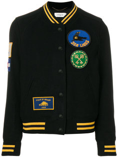 куртка-бомбер в университетском стиле  Coach