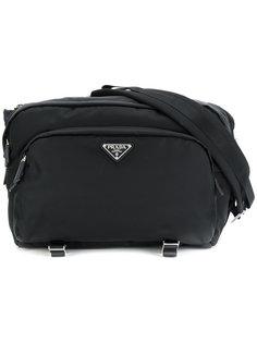 большая сумка через плечо Prada
