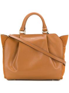 сумка через плечо со складками DKNY