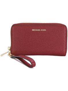 кошелек с ремешком на запястье Jet Set Travel Michael Michael Kors