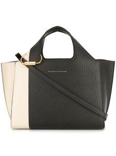 сумка-тоут в стиле колор блок Victoria Beckham