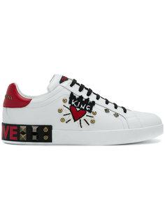 кеды King Of love Dolce & Gabbana