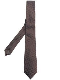 жаккардовый галстук с узором Borrelli