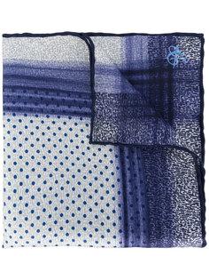 карманный платок с мелким принтом Canali