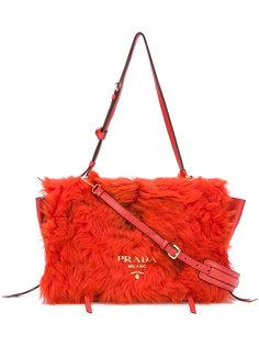 сумка из овчины  Prada