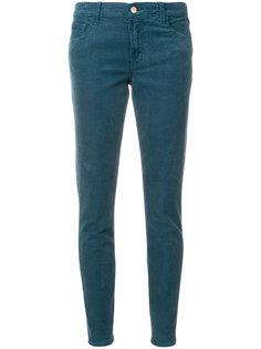 брюки скинни средней посадки J Brand