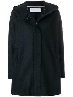 пальто на молнии с капюшоном  Harris Wharf London