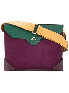 сумка в стиле колор блок Manu Atelier