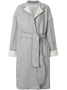 пальто с поясом Victoria Victoria Beckham