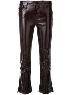 укороченные брюки слим  Rta