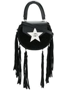 сумка на плечо со звездой и бахромой Salar