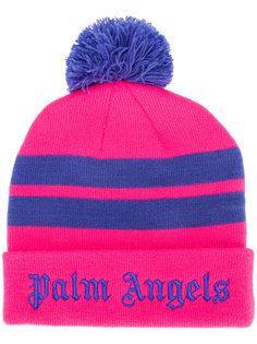 полосатая шапка с логотипом Palm Angels