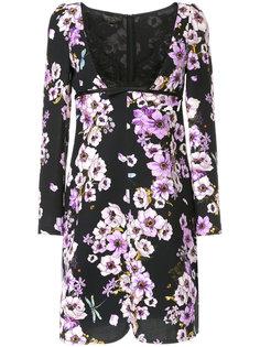 платье с цветочной вышивкой Giambattista Valli