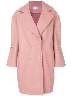 свободное двубортное пальто  Carven