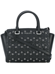 стеганая сумка-тоут с люверсами  Michael Michael Kors