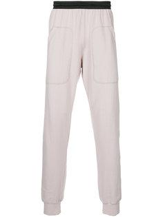 спортивные брюки с присборенными манжетами Zambesi