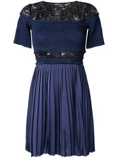 плиссированное платье Paris Nights с рюшами Three Floor