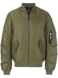 куртка-бомбер  с присборенными рукавами Carhartt