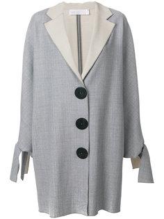пальто с крупными пуговицами Victoria Victoria Beckham