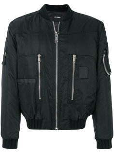 куртка-бомбер на молнии Les Hommes