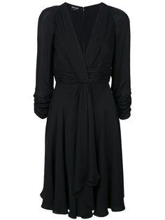 платье с драпировкой  Giorgio Armani