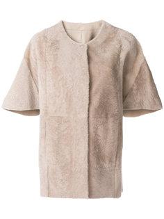 пальто-кейп с короткими рукавами  Drome