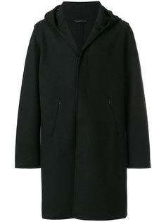 классическое пальто с капюшоном Hevo