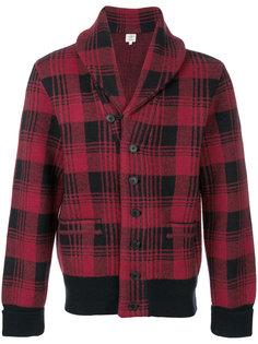 куртка в клетку Kent & Curwen