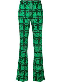 жаккардовые брюки Marni