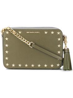 сумка с заклепками в форме звезд Michael Michael Kors
