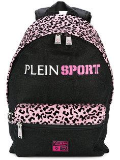 рюкзак с леопардовым узором и блестками Plein Sport