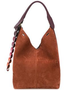 классическая сумка-ведро Anya Hindmarch