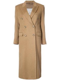 двубортное пальто Giuliva Heritage Collection