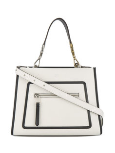 кожаная сумка на плечо Runway Fendi