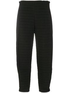укороченные брюки в  рубчик Victoria Victoria Beckham