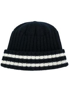 шапка с контрастными полосками Junya Watanabe Comme Des Garçons
